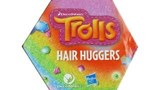 Trolls Hair Huggers Blind Box Series 1 Surprise Box Unboxing Toy Review