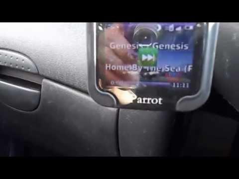 Parrot MKi9200 Hands Free Kit Demonstration in full HD