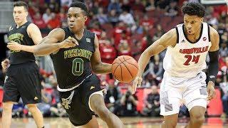 Men's Basketball: Vermont at Louisville (11/16/18)