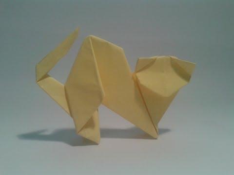 Бумажная кошка