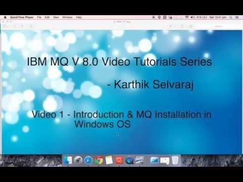 IBM MQ V8 0 Tutorials  - Installation in Windows OS - Video 1