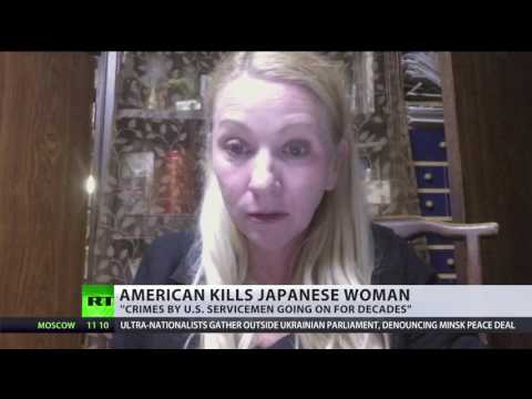 'Japanese rapes by US military just keep happening' - abuse survivor & women's rights activist