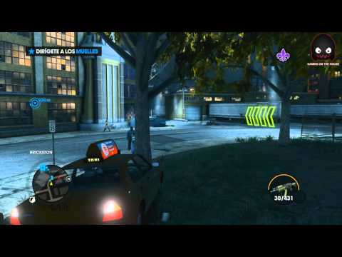 Saints Row: The third - cap 10 (Los amigos espaciales) en Español - GOTH