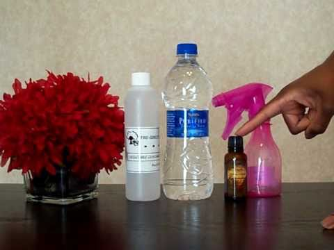 Natural Hair- Vegetable Glycerin and Water Mix