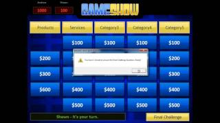 PowerPoint GameShow Template Tutorial