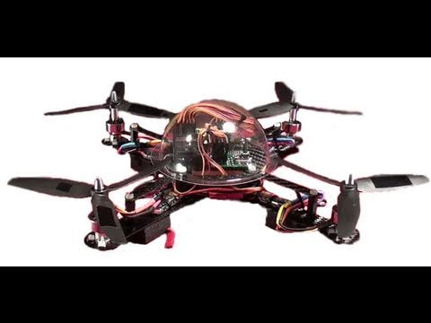 Building A Quad Rotor In 2 Minutes + First Flight