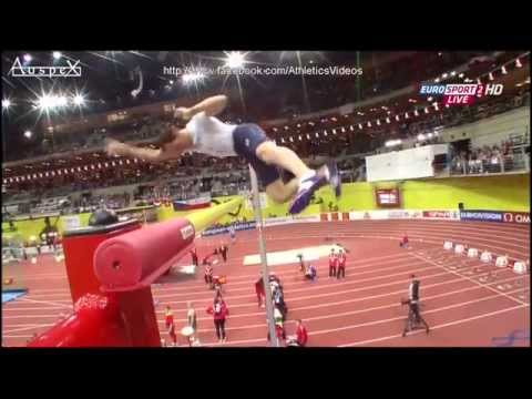Renaud Lavillenie 6.04m, 4 time indoor european champion (Praha 2015)