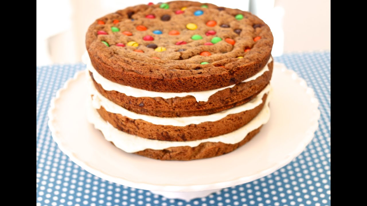 Double Chocolate Chip Birthday Cake Recipe