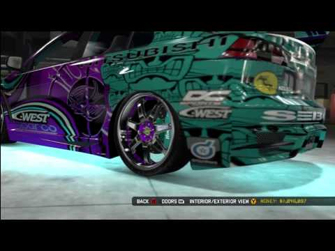 Evolution X; Mitsubishi(Midnight Club Los Angles)(Xbox360)