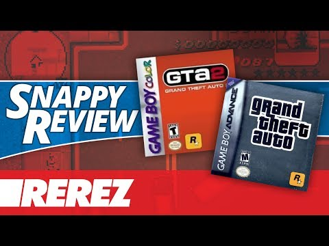 GTA 2 (GBC) & Grand Theft Auto Advance (GBA) - Rerez