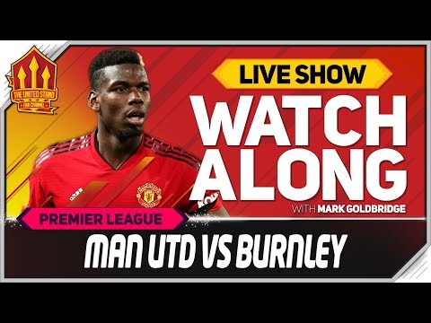 Manchester United vs Burnley  stream Watchalong