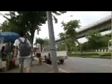 TueZaa พาไป ตอน เดินจากสถานีรถไฟวงเวียนใหญ่ไป BRT