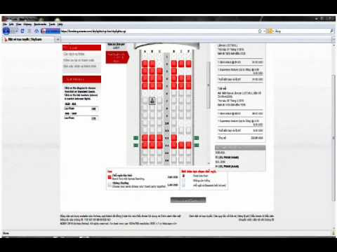 how to book tickets online from AirAsia.com and make payment via Dong A bank.