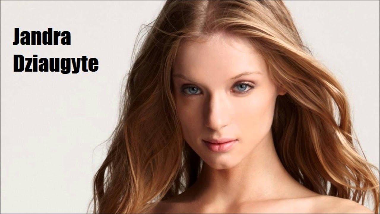 Top 15 The most beautiful Lithuanian women - YouTube