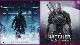 Ghost of Tsushima vs Witcher 2 Comparison   PS4 Pro vs Xbox One X   4K 30FPS