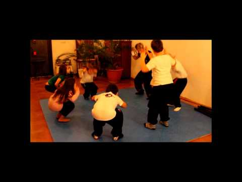 Lion Wing Tsun Kung Fu Kids training.wmv Image 1