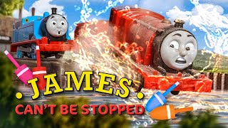 James Can't be Stopped! | The Fastest Red Engine on Sodor Remake | Thomas & Friends