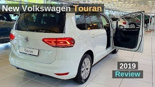 New VW Touran 2019 Review Interior Exterior