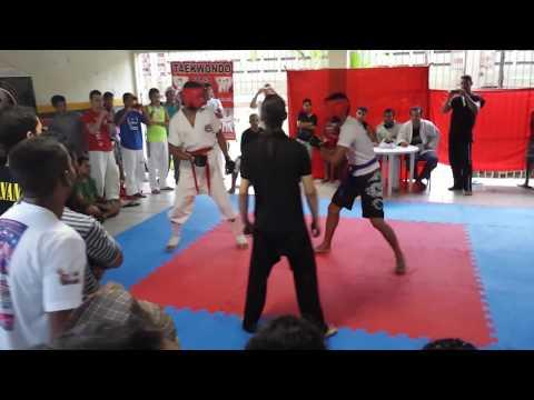 Dl- Desafio De Lutadores- Taekwondo Vs Capoeira video