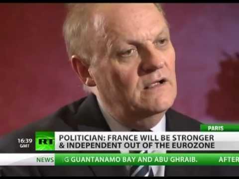 Interview de M. François ASSELINEAU sur Russia Today - Les Silences médiatiques de l UE