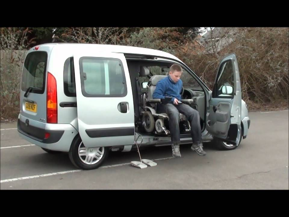 2 Person Smart Car >> Drive From Wheelchair Adapted Vehicle - YouTube