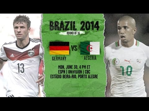 Germany and Algeria 2-1 | World Cup 2014