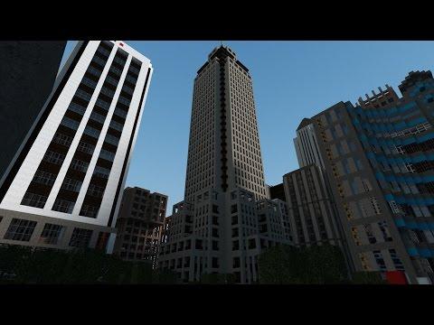 Нью-Йорк: ГОРОД  ЗОМБИ - Майнкрафт выживание с другом