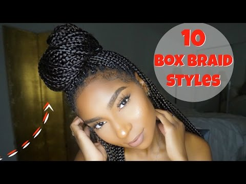 10 NEW STYLES FOR BOX BRAIDS: REQUESTED JAMEXICANBEAUTY