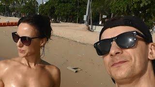 Pattaya strand de eerste dag van de herfst 2/2