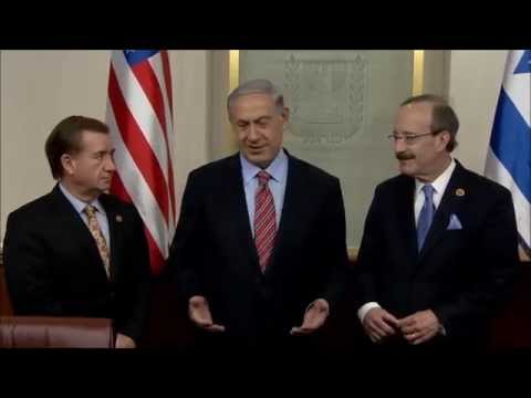 PM Netanyahu Meets Congressmen Royce and Engel