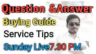 Buying guide and service guide Live on Sunday 27 తెలుగులో ||Srlaptopcare||