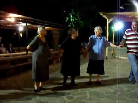 Old women of Epirus lead the dance..
