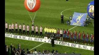 FINAL COPA REY BARCELONA VS ATHLETIC DE BILBAO ENGAÑO Y CENSURA TVE 2009 TRAMPA