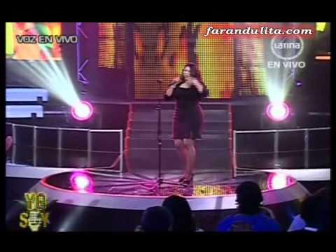 Yo Soy 2da Temporada: Natalia Jimenez por Carla Morales [28-06-2012]