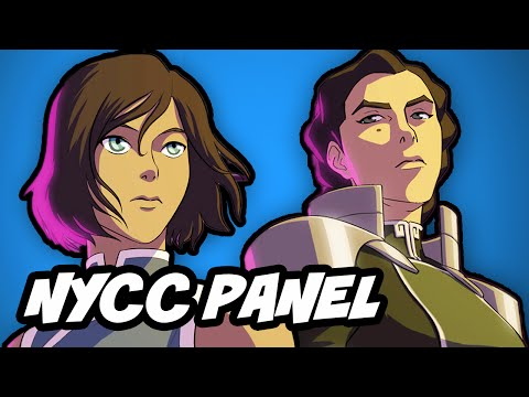 Legend Of Korra Season 4 NYCC 2014 Panel