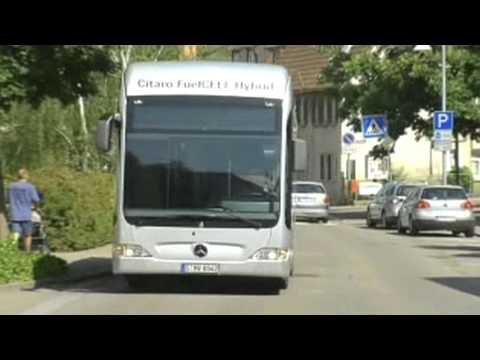 Обзор Mercedes-Benz B-Class F-Cell (водородные топливные элементы), история