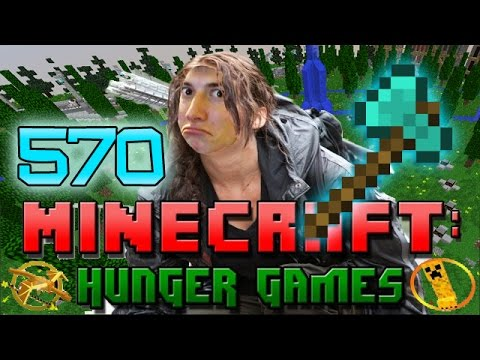 Minecraft: Hunger Games w/Mitch! Game 570 - BETTY AXE!