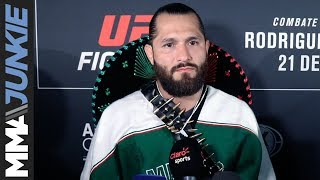 Jorge Masvidal: Full UFC Mexico guest fighter media scrum