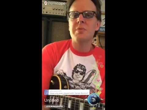 Bona-Scope Rewind – Chat with Joe Bonamassa on Periscope!