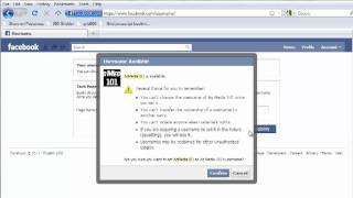 How To... Create A Custom Url For Your Facebook Page