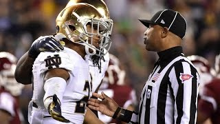 Terrible Targeting Calls And Ejections || College Football || ᴴᴰ
