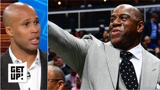 Magic Johnson resigning was the Lakers' biggest step forward - Richard Jefferson | Get Up!