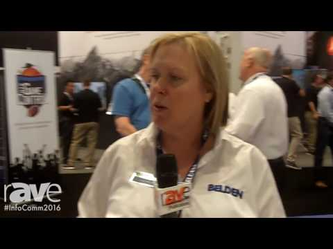 InfoComm 2016: Belden Inc-Grass Valley USA-LLC Highlights HDBaseT Cable