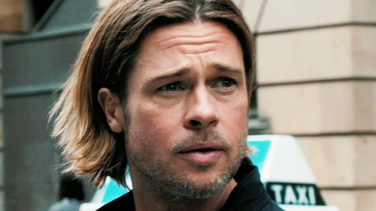 Pictures of Brad Pitt in World War z World War z Trailer 2013 Brad