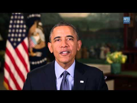 Obama's Memorial Day Message -2014