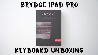 Brydge Pro - 2019 iPad Pro Keyboard Case Unboxing