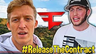 Streamers React To Tfue Response to Banks & FaZe Clan! #ReleaseTheContract