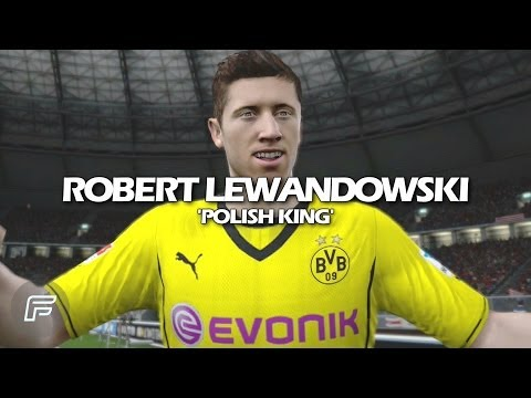 "Robert Lewandowski ""Polish King"" (FIFA 14 Tribute)"