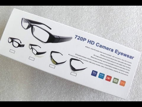 720p HD Camera Eyewear - TUTORIAL & REVIEW !!