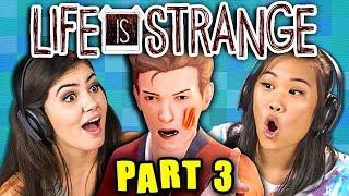 PARKING LOT FIGHT! | LIFE IS STRANGE - Part 3 (React: Gaming)